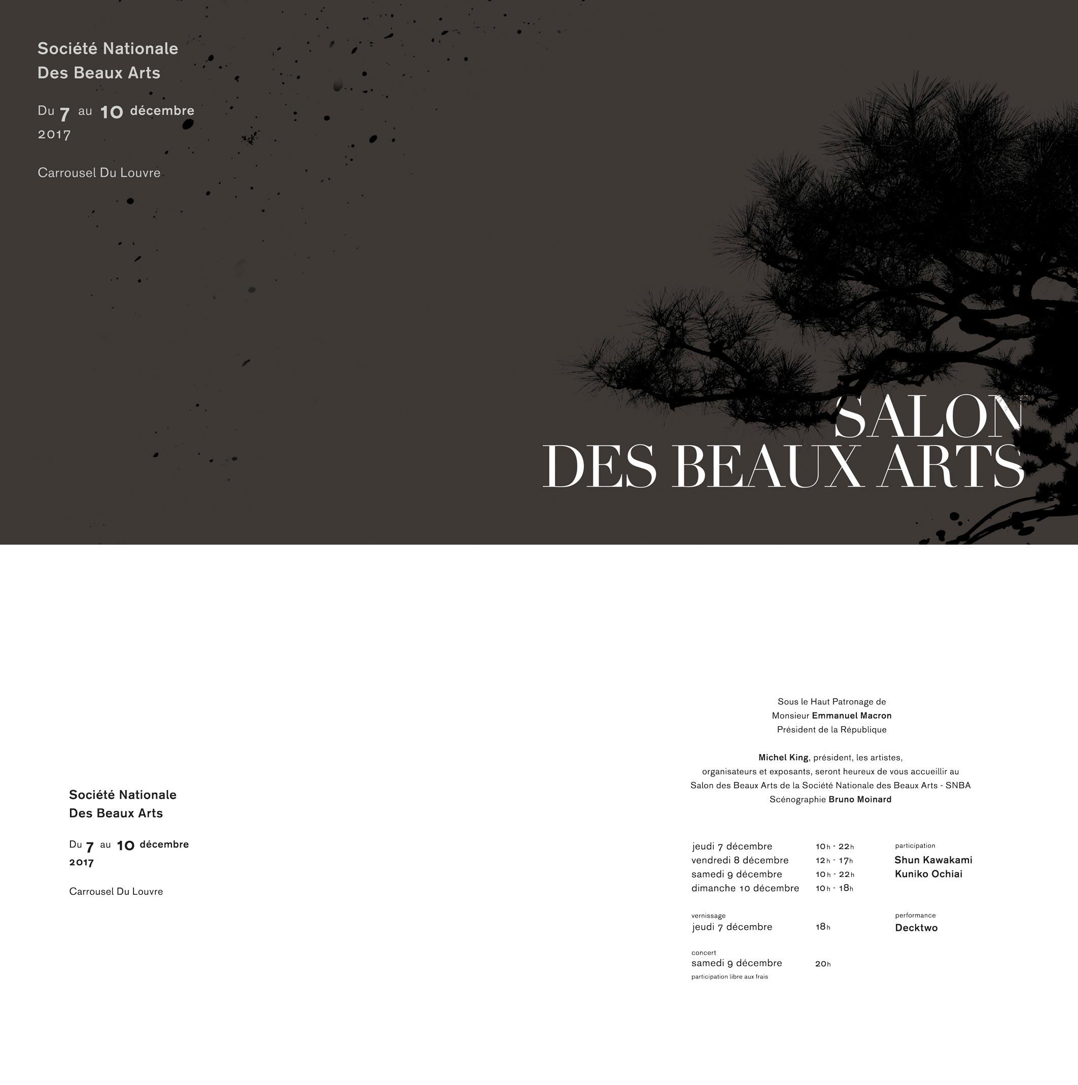 Invitation salon des beaux arts 2017 salon des beaux arts for Salon des beaux arts