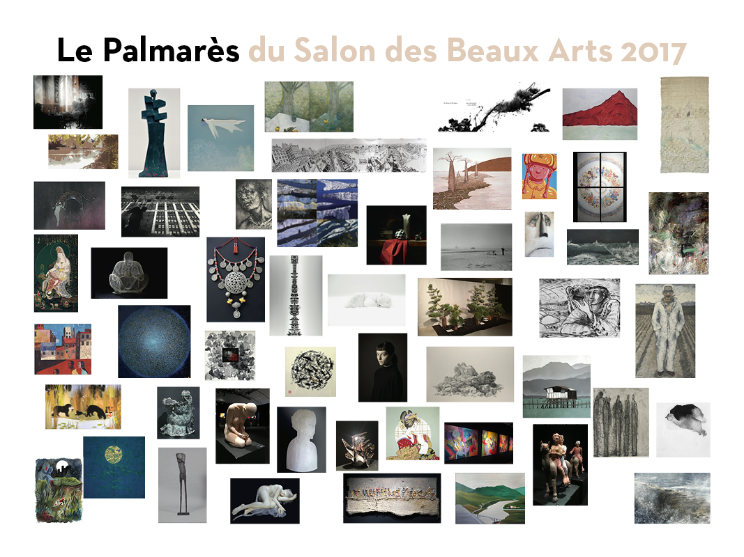 Les Salon 2017 : Le palmarès du salon des beaux arts un rond point d