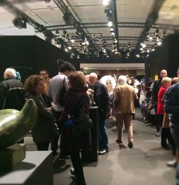 Le vernissage du Salon des Beaux Arts