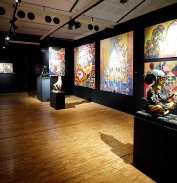 Vue du Salon des Beaux Arts • La Délégations de Russie