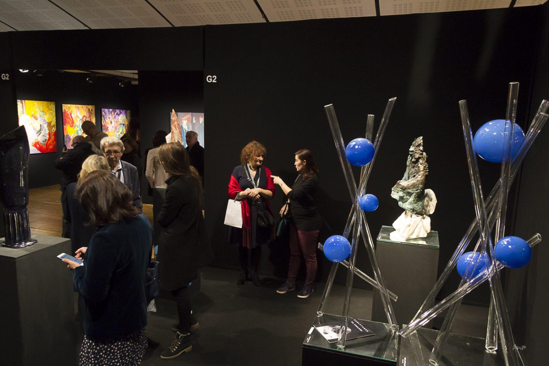 Vue du Salon des Beaux Arts 2017