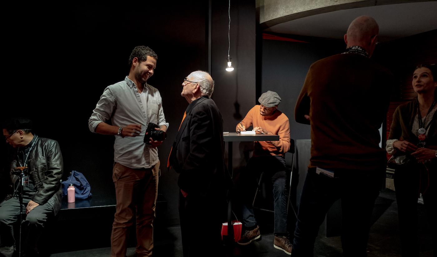 Abd Al Malik et Michel king au salon des beaux arts 2019